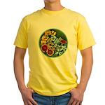 Summer Circle Yellow T-Shirt