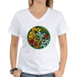 Summer Circle Women's V-Neck T-Shirt