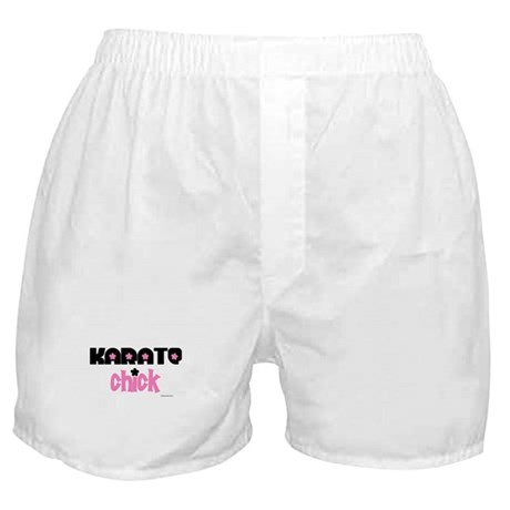 Karate Chick (Cotton Candy) Boxer Shorts