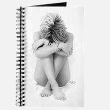 Blonde Nude On White Journal