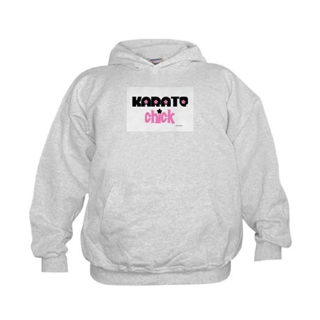 Karate Chick (Cotton Candy) Kids Hoodie