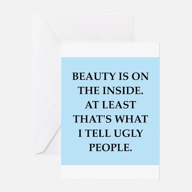 beauty Greeting Card
