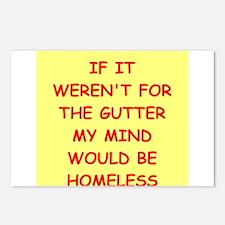 gutter mind Postcards (Package of 8)