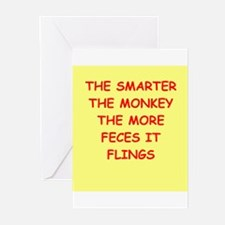 monkey Greeting Cards (Pk of 20)