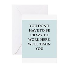 WORK2.png Greeting Cards (Pk of 10)