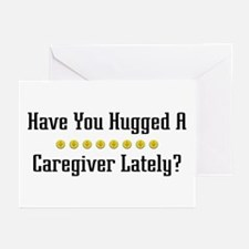 Hugged Caregiver Greeting Cards (Pk of 10)