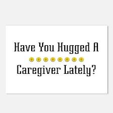Hugged Caregiver Postcards (Package of 8)