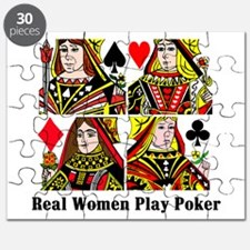 Real Women Play Poker Puzzle