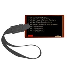 i am the teacher 3.png Luggage Tag