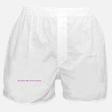 The Future Mrs Leland Chapman Boxer Shorts