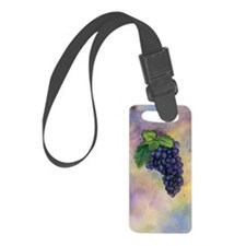 Red Wine Grapes Luggage Tag