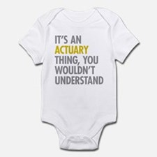 Its An Actuary Thing Onesie