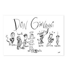 Don Giovanni: The Postcards (Package of 8)