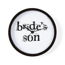 Bride's Son Wall Clock