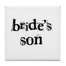 Bride's Son Tile Coaster