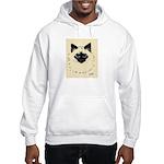 Blue Eyed Kitten Hooded Sweatshirt