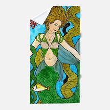 Seaweed Mermaid Beach Towel