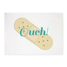 Ouch Bandage 5'x7'Area Rug