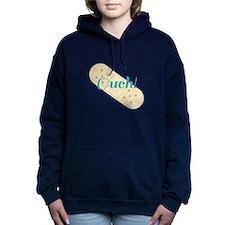 Ouch Bandage Women's Hooded Sweatshirt