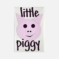 Little Piggy Rectangle Magnet