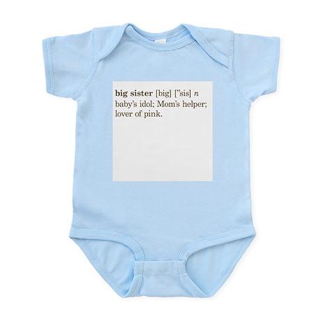 Big Sister Definition - Infant Bodysuit