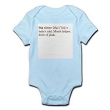Big Sister Definition - Infant Bodysuit