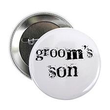 Groom's Son Button