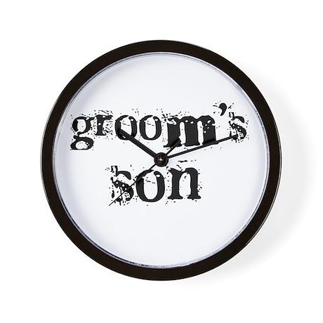 Groom's Son Wall Clock