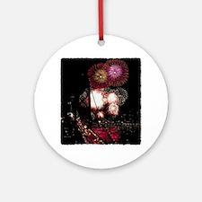 SF Fireworks Ornament (Round)