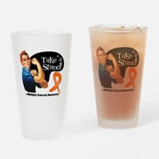 Multiple Sclerosis Stand Drinking Glass