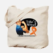 Multiple Sclerosis Stand Tote Bag