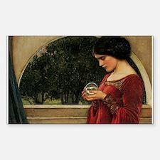 Crystal Ball Waterhouse Painting Magic Fantasy Sti