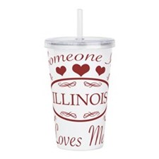 Somebody In Illinois L Acrylic Double-wall Tumbler