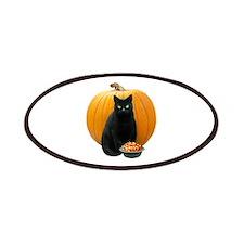Black Cat Pumpkin Patches