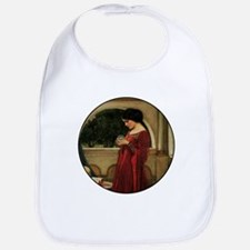 Crystal Ball Waterhouse Painting Magic Fantasy Bib