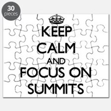 Keep Calm and focus on Summits Puzzle