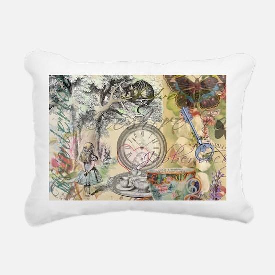 Cheshire Cat Alice in Wonderland Rectangular Canva