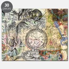 Cheshire Cat Alice in Wonderland Puzzle