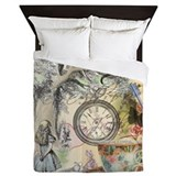 Cheshire cat alice Luxe Full/Queen Duvet Cover