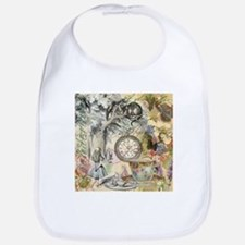 Cheshire Cat Alice in Wonderland Bib