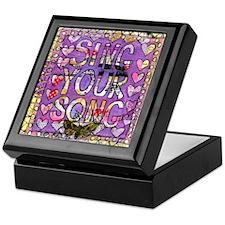 Sing YOur Song Inspiration Keepsake Box