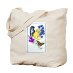 Kittens & Butterfly Tote Bag