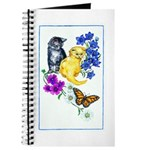 Kittens & Butterfly Journal