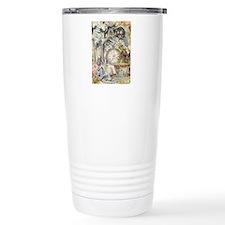 Cheshire Cat Alice in Wonderland Travel Mug