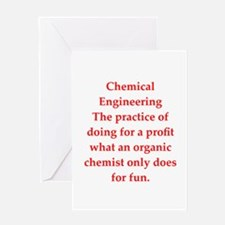 chemistry joke Greeting Card