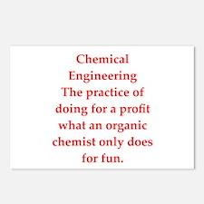 chemistry joke Postcards (Package of 8)