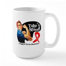 Stroke Stand Mug