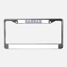 CAESAR University License Plate Frame