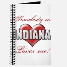 Somebody In Indiana Loves Me Journal