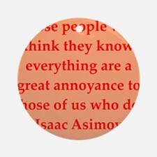 asimov13.png Ornament (Round)